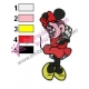 Minnie Mouse Cartoon Embroidery 1